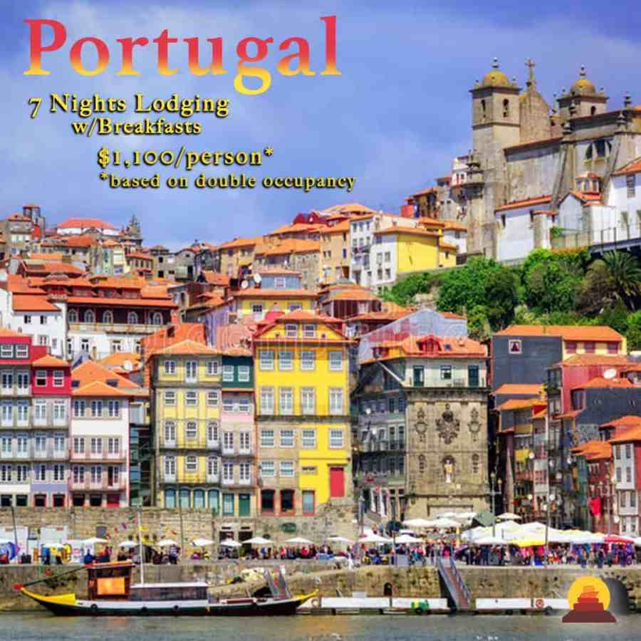 This Portugal vacation begins in the port-wine capital at the mouth of the Douro River, Porto.  Private drivers and guides and port and wine tours.  Duoro river cruise