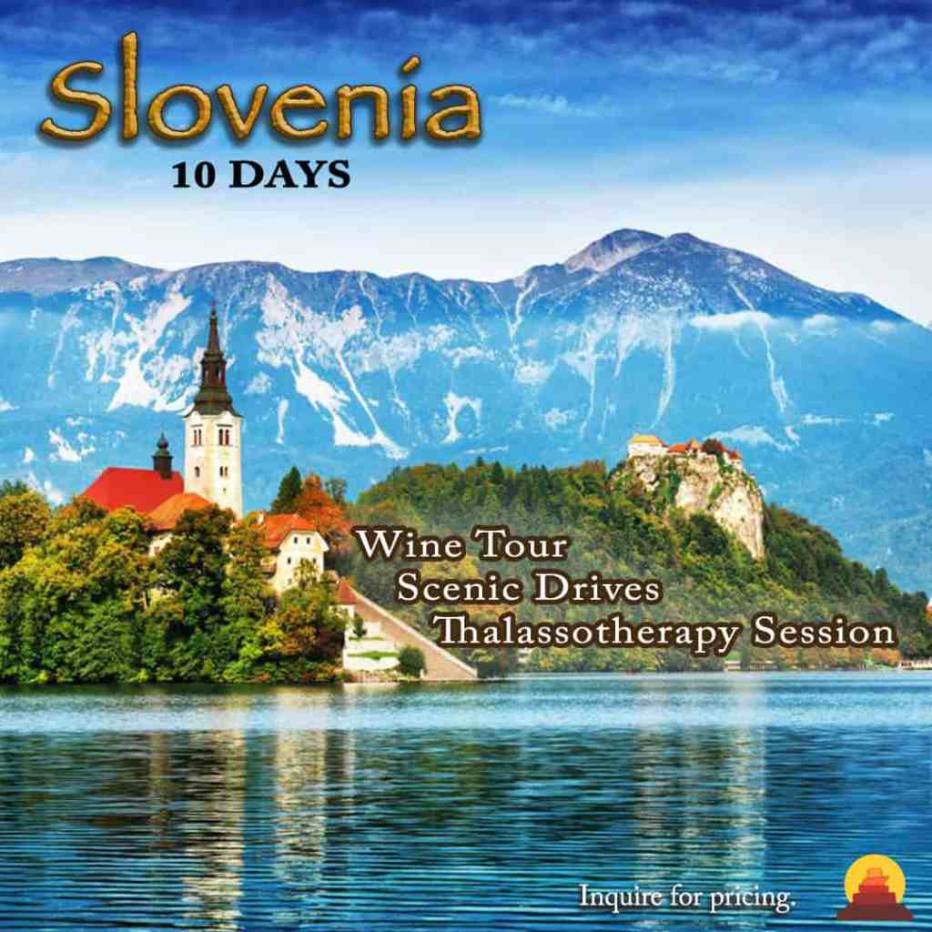 Lovely vacation in Slovenia with fairytale sights and well appointed hotels.