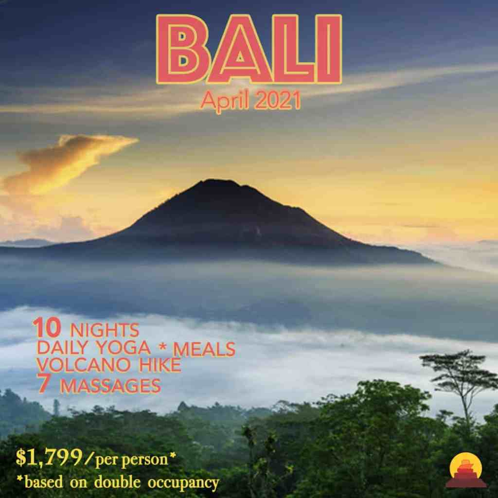 A vacation off the beaten path in North Bali.  Small group trip to practice yoga and tour Bali.  All inclusive resort vacation packages.